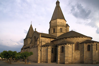 Chevet Bénévent l'Abbaye