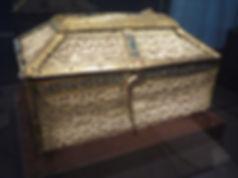 Coffre eucharistique émaillé Santo Domingo Silos