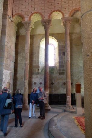 Découverte de l'église du XIème siècle de Chateauponsac