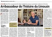 Ambassadeur de l'histoire du Limousin