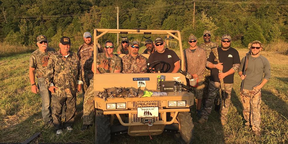 TWRA sponsored Dove Hunt weekend 2