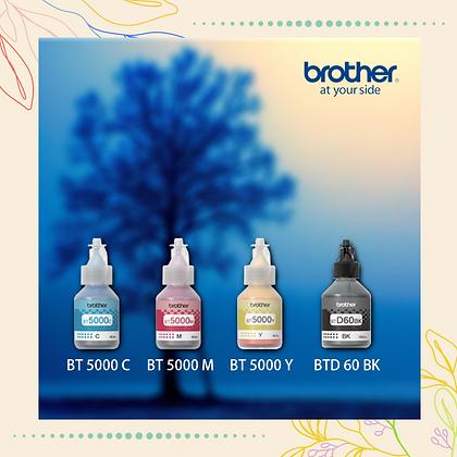 BROTHER Ink BTD60BK+BT5000C/M/Y