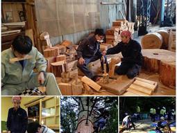 「屋根板製作」の養成研修を行っています