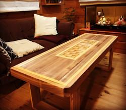 ローテーブル1200×500