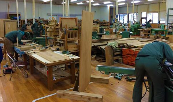 長野県上松技術専門校を見学させて頂きました