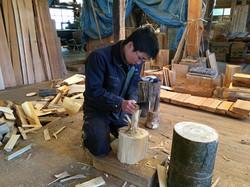 自分に馴染む道具を作るのも、職人の仕事