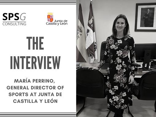The interview - María Perrino (Junta de Castilla y León)