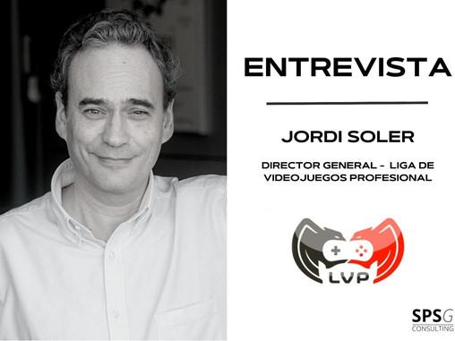 Nuestra entrevista mensual - Jordi Soler (LVP)