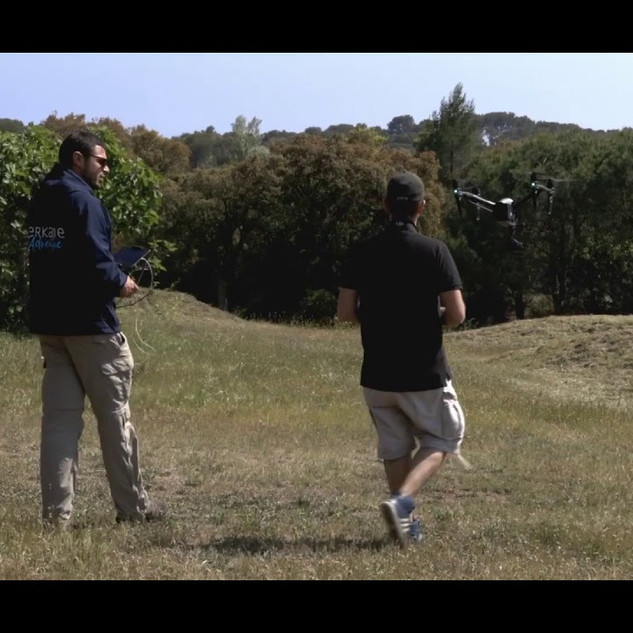 Formation drone artistique terkane