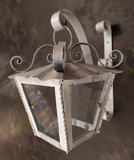 Lanterna  in ferro battuto