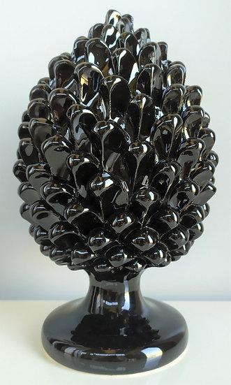 Pigna nera cm 30 h - ceramica di Caltagirone