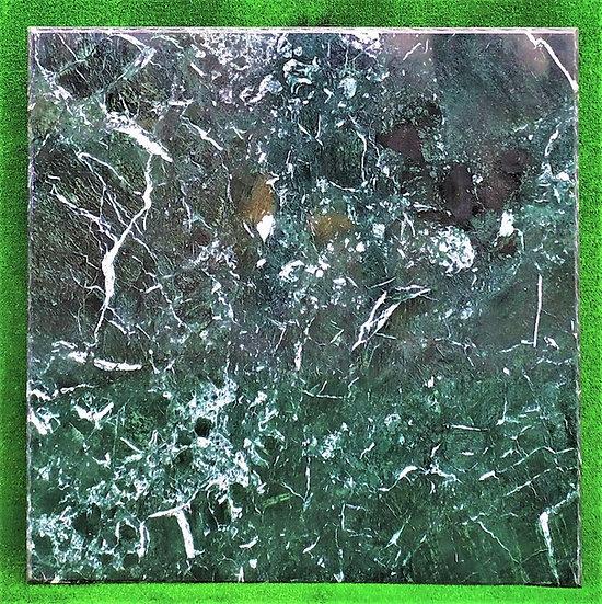 Top in marmo verde Alpi cm 100x100 - spess. 15mm
