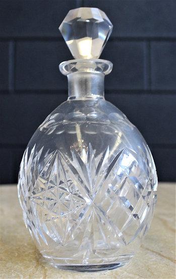 Bottiglia in vetro molato