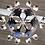 Thumbnail: Enorme lampadario in ferro battuto 12 luci - cm 215 h