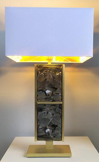 """Alberto Donà - Lampada """"Museo Gold"""" in vetro di Murano"""