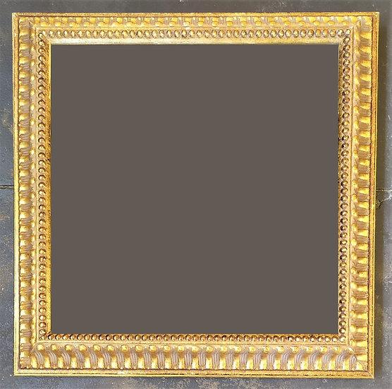 Cornice stile Impero in legno dorato - XX sec.