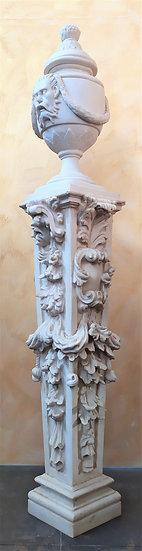Enorme colonna votiva cm 220 H - fine XX secolo