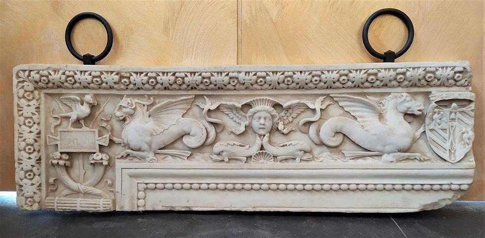 Grande Altorilievo da parete cm 125 - fine XX secolo