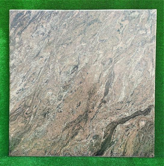 Top in marmo bruno/nero striato cm 100x100 - spess. 15mm