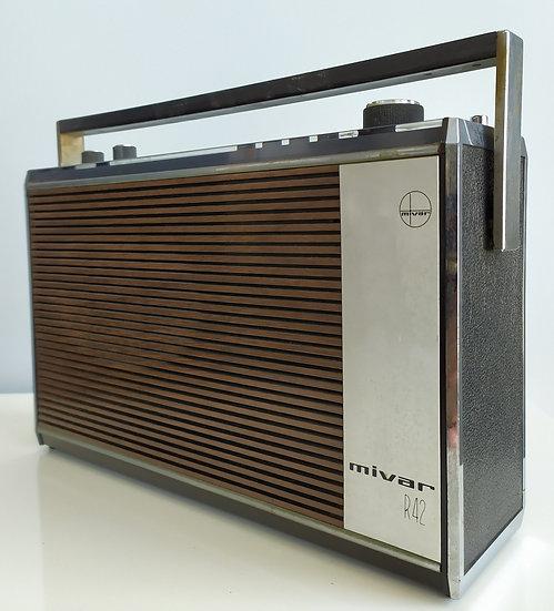 Radio portatile Mivar mod. R42 - anni '70