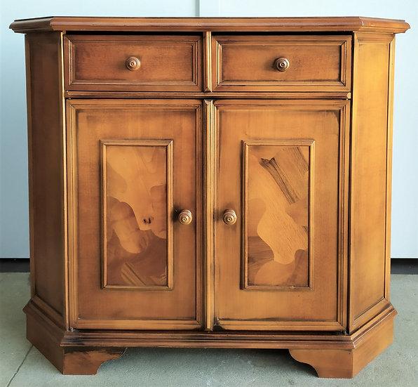 Credenza in legno a 2 ante + 2 cassetti - Italia XX sec.