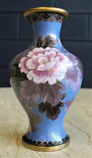 Vaso cloisonné - Cina XX secolo