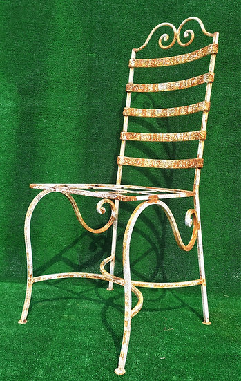 Sedia in ferro battuto (S9)