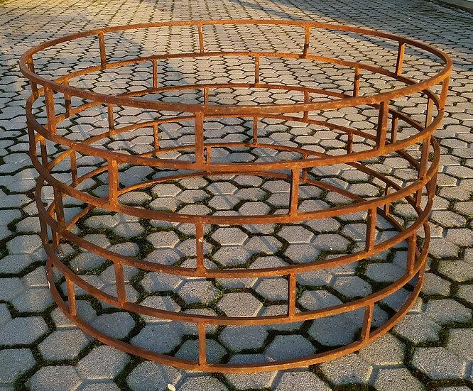 Base per tavolo basso in ferro battuto cm Ø 90