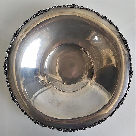 Vassoio alzata in silver plated - Italia 1° metà XX sec.