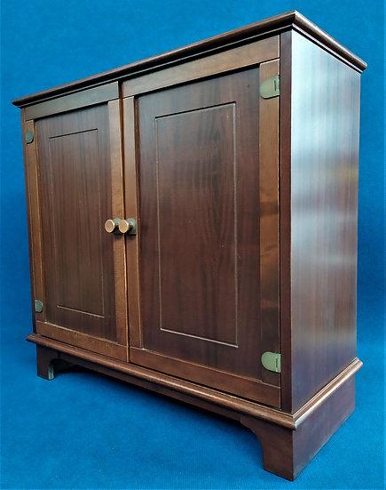 Mobiletto 2 ante in legno - stile marina - anni '70