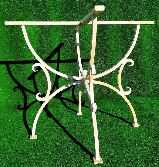 Base per tavolo in ferro battuto cm Ø 95
