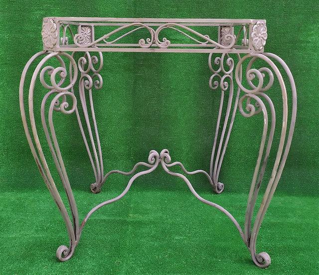 Base quadrata per tavolo in ferro battuto cm 83 x 83