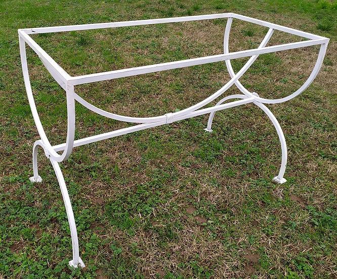 Base per tavolo in ferro battuto cm 60x120