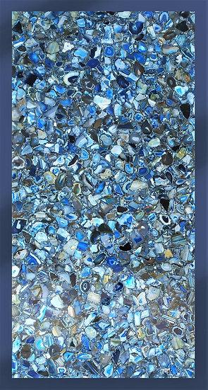 Top in Agata blu cm 100x200 - spess. 25mm