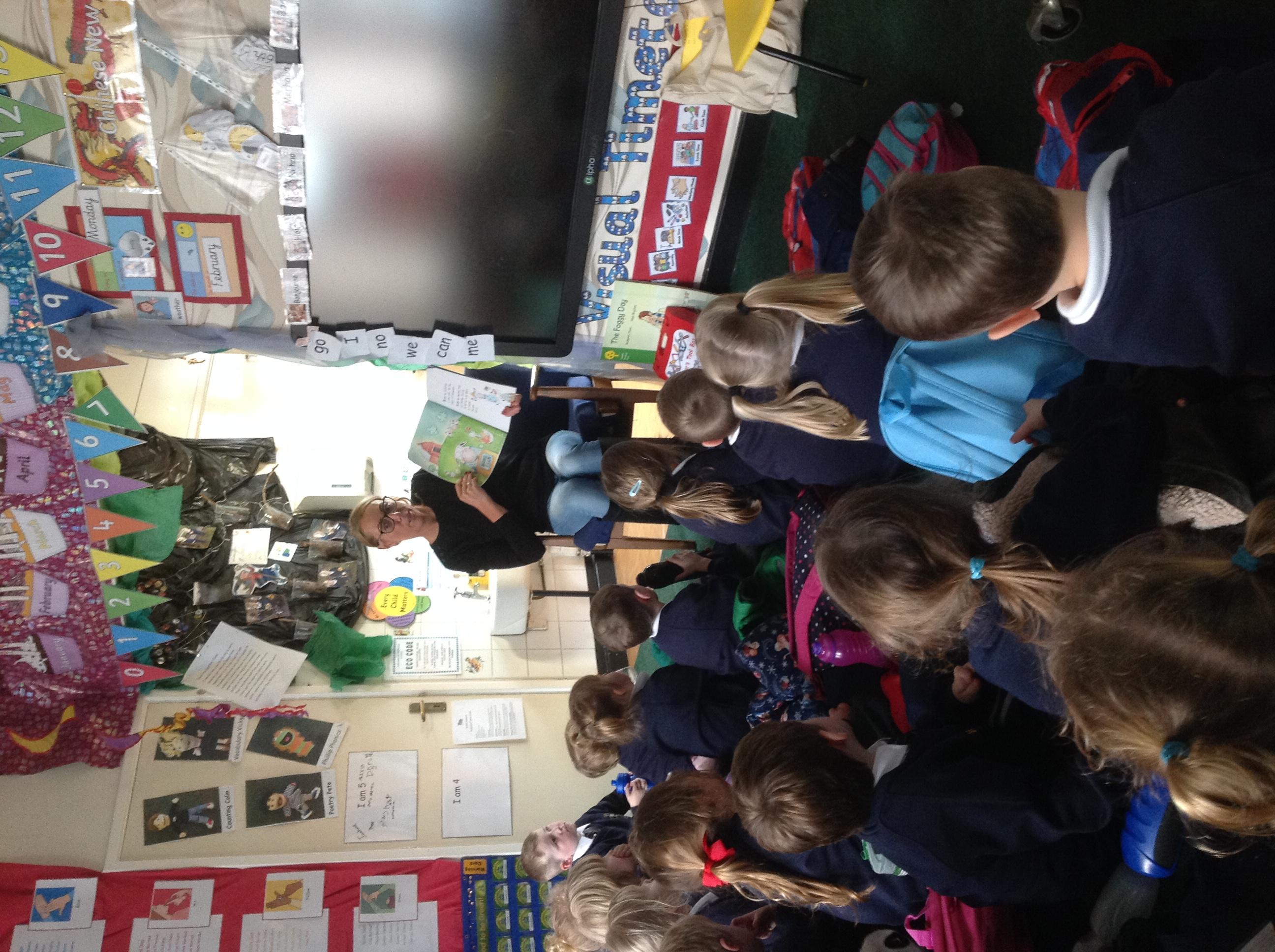 FORSBROOK CE PRIMARY SCHOOL | RECEPTION