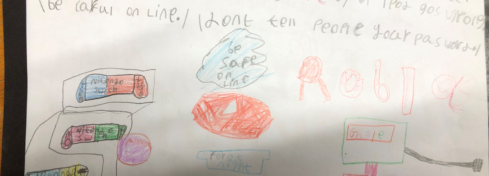 Tablet time- how will we stay safe?