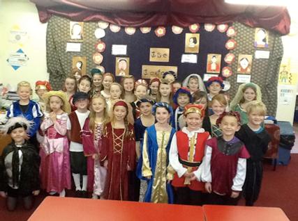 Year 4 Tudor Day