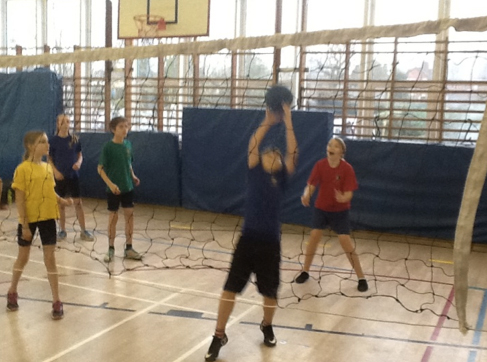 Y5/6 Volleyball event