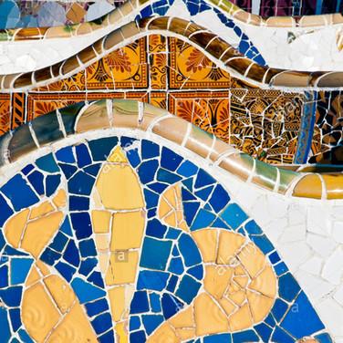 Parc Guell Mosaics2