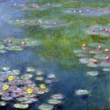 Water Lilies Detail