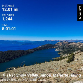 Snow Valley: Two Lakes for the Price of 12 Miles
