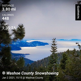 (Almost) New Year's Snowshoe Hike
