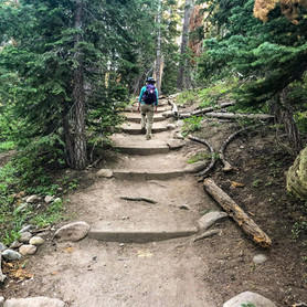 A Beat-the-Clock Hike to Dardanelles Lake on a School Night