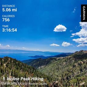 Friday Solo Hike: Incline Peak