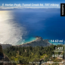 Longest Hike We've Ever Done: Herlan Peak: 14.63 mi