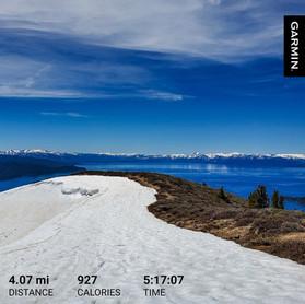 Hardest 4-miler hike.