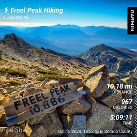 Fall Hike to Freel Peak: 10,886'