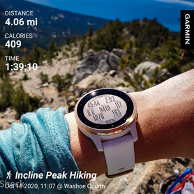Friday Solo Hike: Incline Peak in 49:44!