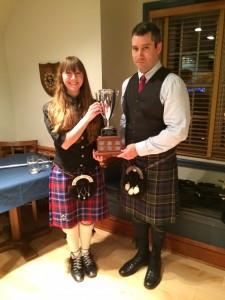Kara Bush Wins the Archie Cairns Cup