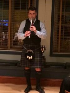Matt on the tin whistle